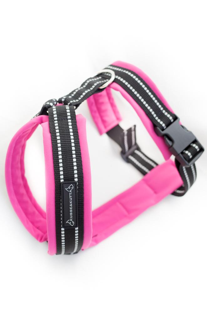soft shell -valjaat, 5cm leveä, pinkki