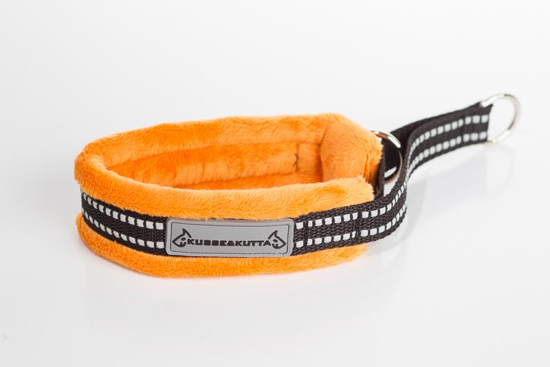 oranssi, puolikuristava, 4cm leveä, 2cm nauha