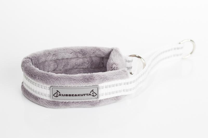 hopea (valkoinen nauha), puolikuristava, 4cm leveä, 2cm nauha