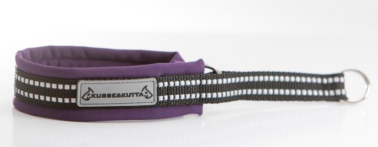 violetti, puolikuristava, 3,5cm leveä, 2cm nauha
